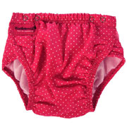 Трусики для плавания Konfidence Aquanappies Pink Polka Dot OSSN06