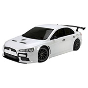 Шоссейная 1:10 E4JR Mitsubishi Evolution X Team Magic белый TM503014-EVX-W