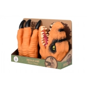 Ігровий набір Same Toy Dino Animal Gloves Toys помаранчевий AK68623Ut-3
