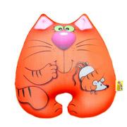 Антистрессовая игрушка Штучки Кот Мышкин красный