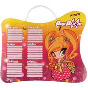 Доска с расписанием занятий Kite PopPixie PP14-145K