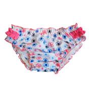 Плавки для девочки Baby Keyzi бело-голубые