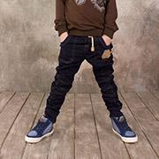 Брюки для мальчика Модный карапуз 03-00572 синие