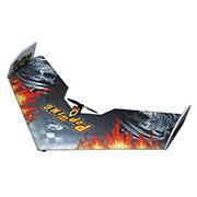 Летающее крыло Tech One Popwing 900 мм EPP ARF черный