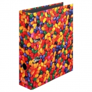 Папка-регистратор Herlitz А4 8см World of Fruit Jelly Beans 10507788