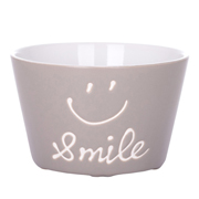 Салатник 570 мл Smile Limited Edition JH6633-4 сірий