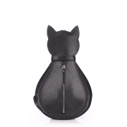 Рюкзак женский Poolparty Cat Leather backpack