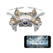 Квадрокоптер нано Wi-Fi CX-10W с камерой Cheerson бежевый