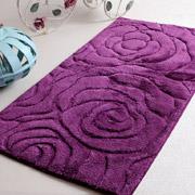 Коврик в ванную Irya Pretty фиолетовый