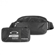 Сумка на пояс раскладная Tucano Compatto XL Waistbag Packable Black BPCOWB