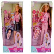 Кукольный набор Штеффи Няня 2 вида Steffi Evi Love 5730211