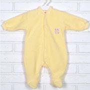 Человечек-комбинезон утепленный Татошка 15406 желтый