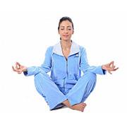 Женская пижама на молнии Arya 13315 голубая