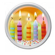 Поднос круглый Rotation Birthday candles Emsa EM512517