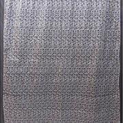 Тюль Органза Arya 2700 с вышивкой Siyah K152700