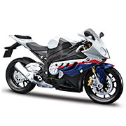 Модель мотоцикла 1:12 BMW S1000RR white/blue Maisto