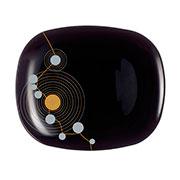 Тарелка обеденная Luminarc Sequins Black E8074