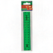 Линейка в блистере, 2 шкалы ZiBi ZB.5601-99