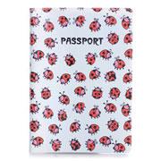 Обложка для паспорта ZIZ Божьи коровки ZIZ-10028