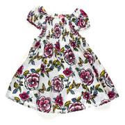 Платье для девочки Gloria Jeans молочные цветы