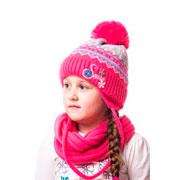 Шапка для девочки Snow Alex Д225