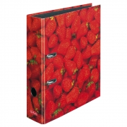 Папка-регистратор Herlitz А4 8см World of Fruit Strawberry 10485126