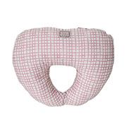 Подушка под голову Прованс Andre Tan розовая клетка 000188