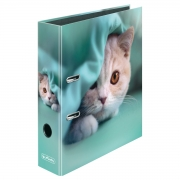 Папка-регистратор Herlitz А4 8см Winter Cozy Kitten 50022281