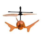 Летающий шар на ИК управлении Aero Spin Auldey оранжевый
