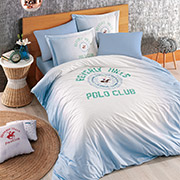 Постельное белье Beverly Hills Polo Club BHPC ранфорс 019 Blue