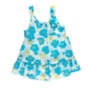 Блуза для девочки Gloria Jeans 66923 голубая