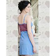 Ночная сорочка Ellen LND 055/002 голубая