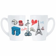 Набор кружек Luminarc New Morning Love Paris 2х320 мл P9812