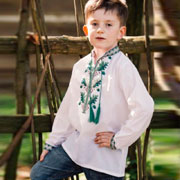 Сорочка вышитая для мальчика Сварга Дубовий гай