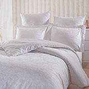 Комплект постельного белья SoundSleep Terassa White сатин-жаккард белый
