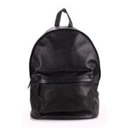Кожаный рюкзак Poolparty backpack-leather-black