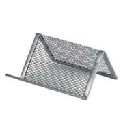 Подставка для визиток металлическая Axent 2114-03-A