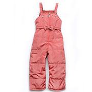 Детский демисезонный полукомбинезон для девочки Модный карапуз 03-00551 Коралл