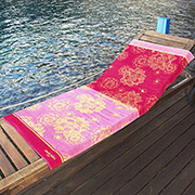 Пляжное полотенце Marie Claire Suyano розовое