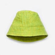 Панама для мальчика Модный карапуз 03-00504 салатовый лен