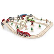 Набор железной дороги Железнодорожная развязка Hape E3701