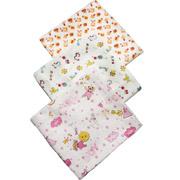 Комплект байковых пеленок 3 шт. Модный карапуз 03-00616