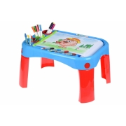Обучающий стол Same Toy My Fun Creative table с аксесуарами 8810Ut
