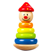 Игрушка пирамидка-клоун E0400 Hape