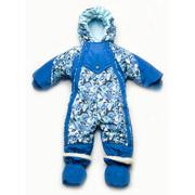 Комбинезон-трансформер демисезонный Модный карапуз 03-00595 синий