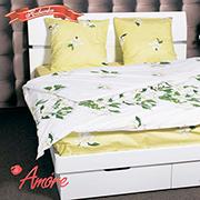 Комплект постельного белья Amore Ramo fiorito бязь голд