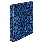 Папка-регистратор Herlitz А4 5см World of Fruit Blueberry 11288859