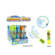 Мыльные пузыри Bubble Fun Зверята в колбе