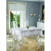 Скатерть Tropik home Royal Grey 5699-3 - Фото №2