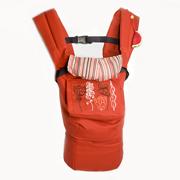 Эрго рюкзак красный Модный карапуз My baby 03-00345
